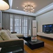 现代客厅飘窗设计