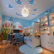 大户型地中海风格儿童房装修效果图
