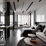 公寓卧室白色个性吊顶