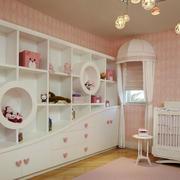 粉色调房间效果图片