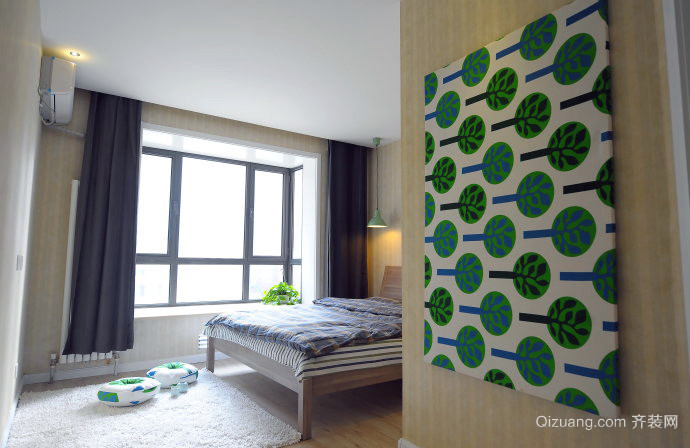 110平米三室一厅装修效果图