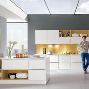 精致厨房背景墙图