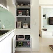 公寓开放式床置物柜