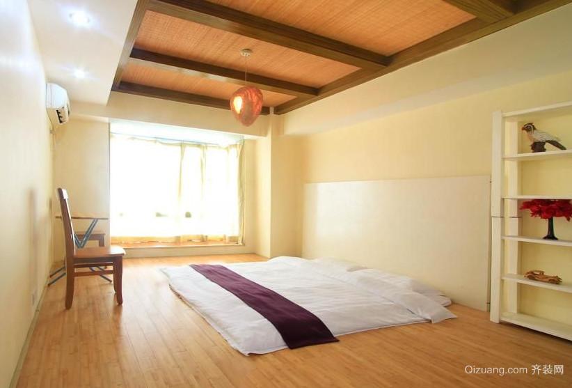 128平米睡的舒服的榻榻米床装修效果图