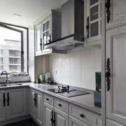 现代厨房背景墙造型图