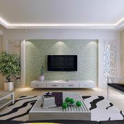 欧式大户型电视背景墙装修效果图