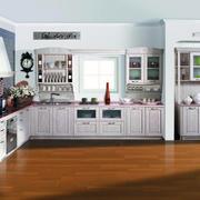 现代欧式大户型整体厨房装修效果图