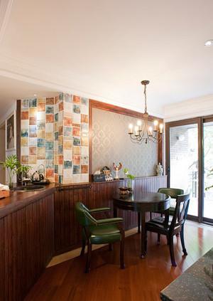 40㎡宜家中性风餐厅背景墙效果图展示