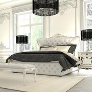 欧式浅色奢华风格卧室灯饰装饰