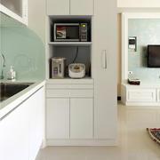 公寓厨房隐形门设计