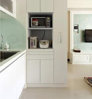混搭风格小户型单身公寓装修效果图