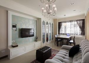 公寓客厅电视背景液体壁纸