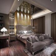 欧式卧室床头柜装饰