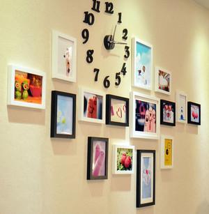 140平米创意系列照片墙设计效果图