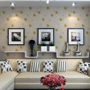 客厅背景墙图案设计