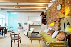 公寓沙发背景墙设计