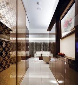 优雅新古典风格小公寓装修效果图