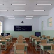 简约风格小型教室吊顶装饰
