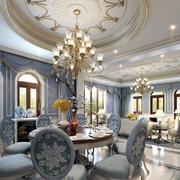 大户型法式风格餐厅装修效果图