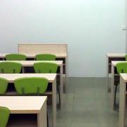 简约风格学校会议室教室装饰