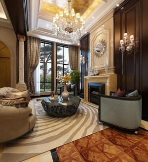 欧式简约风格客厅不规则茶几装饰