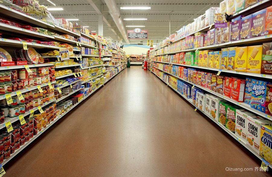 都市便民超市装修设计效果图