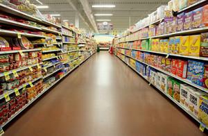 超市零时区货架