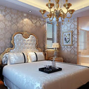 欧式简约风格卧室床饰