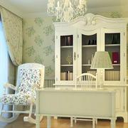 韩式别墅简约风格书房装饰