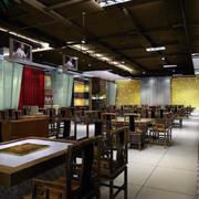 现代火锅店灯光设计