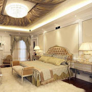 欧式奢华卧室镜饰装饰