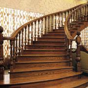 精致的楼梯背景墙图