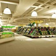 大户型现代超市展示