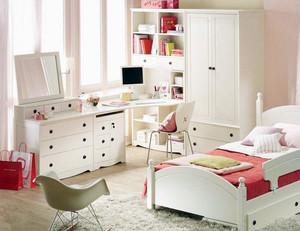 优雅儿童房书桌装修设计效果图