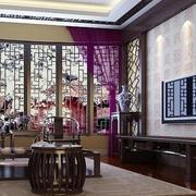 118平米传统风格客厅装修效果图
