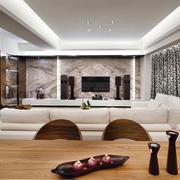 新古典客厅电视背景墙
