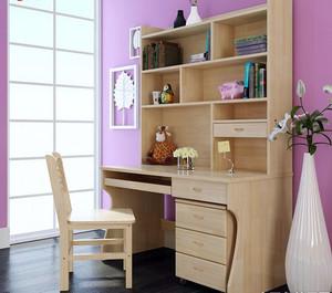 精巧儿童房书桌设计装饰效果图