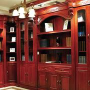 田园风格书柜设计大全