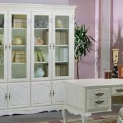 纯白色调书柜设计大全