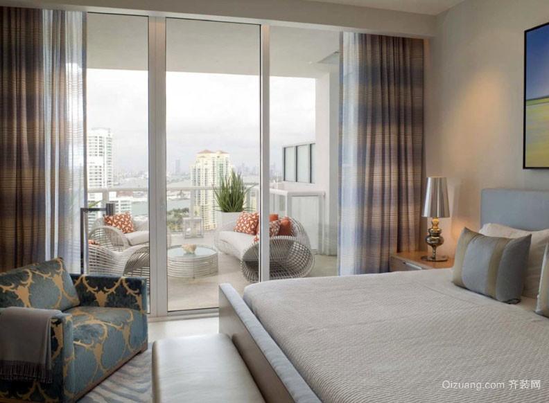 简约现代18平米小卧室装修效果图
