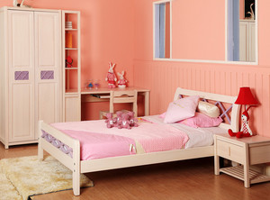 二居室轻快风格儿童房设计装修效果图