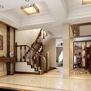 欧式简约风格别墅客厅吊顶装饰