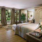 美式简约风格农村房屋卧室装饰