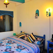 地中海风格简约卧室灯饰装饰