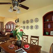 东南亚风格农村房屋客厅效果图