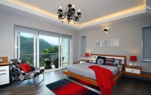俊秀有格调的大卧室装修效果图