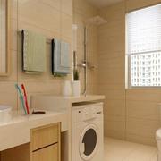 单身公寓简约风格卫生间装修效果图