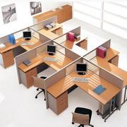 小型整体化办公桌