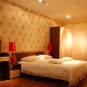 复式楼沉稳风格卧室装修效果图