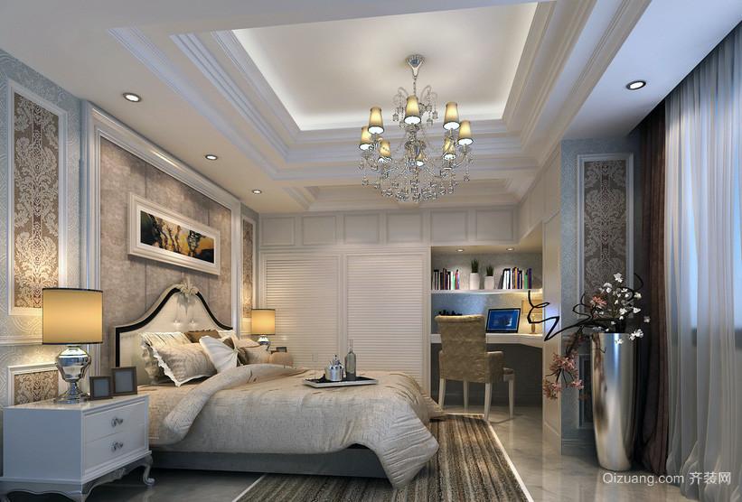 大户型欧式卧室简易衣柜装修效果图